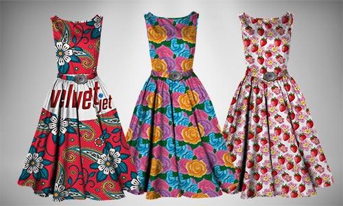 Velvet Jet textile printing on garment